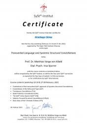 Kibed certificate for russians